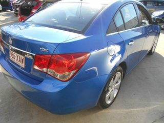 2010 Holden Cruze JG CD Blue 6 Speed Sports Automatic Sedan