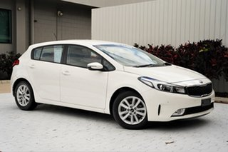 2016 Kia Cerato YD MY17 S Premium White 6 Speed Sports Automatic Hatchback.