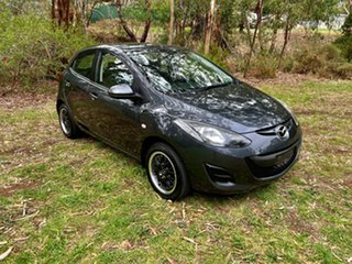 2014 Mazda 2 DE10Y2 MY14 Neo Sport Meteor Grey 5 Speed Manual Hatchback