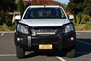 2015 Isuzu D-MAX MY15 SX Crew Cab White 5 Speed Sports Automatic Utility.