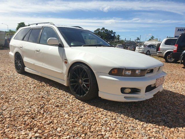 Used Mitsubishi Legnum Holtze, 1997 Mitsubishi Legnum White 5 Speed Manual Wagon
