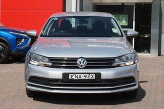 2015 Volkswagen Jetta 1B MY15 118TSI DSG Trendline Silver 7 Speed Sports Automatic Dual Clutch Sedan