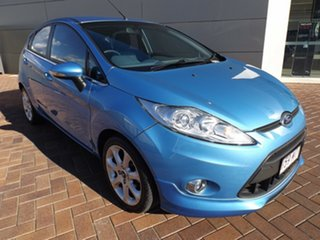2009 Ford Fiesta WS Zetec Blue 5 Speed Manual Hatchback.