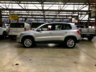 2009 Volkswagen Tiguan 5N MY09 103TDI 4MOTION Silver 6 Speed Sports Automatic Wagon