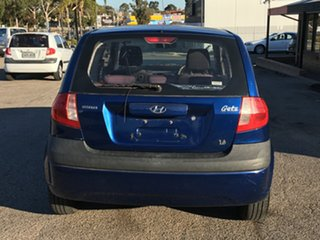 2005 Hyundai Getz TB MY05 FX Blue 5 Speed Manual Hatchback