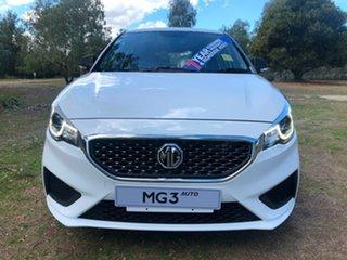 2021 MG MG3 (No Series) Core (Nav) White Automatic Hatchback.