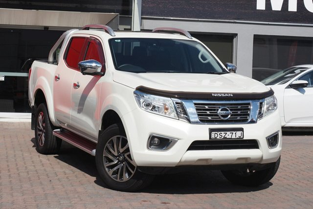 Used Nissan Navara D23 S3 ST-X Parramatta, 2018 Nissan Navara D23 S3 ST-X White 7 Speed Sports Automatic Utility