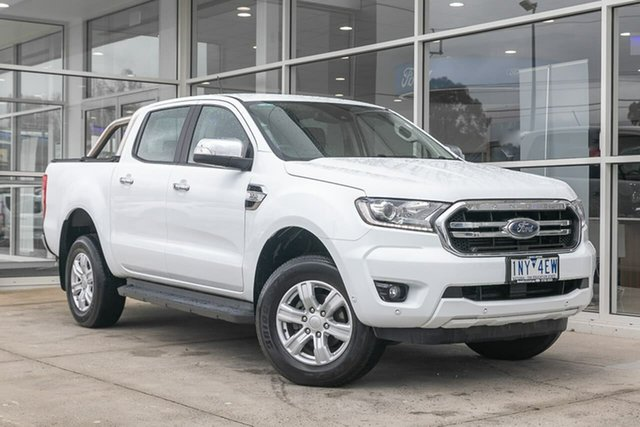 Used Ford Ranger PX MkIII 2019.00MY XLT Hi-Rider Ferntree Gully, 2018 Ford Ranger PX MkIII 2019.00MY XLT Hi-Rider White 6 Speed Sports Automatic Utility
