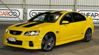 2010 Holden Commodore VE II SS V Yellow 6 Speed Manual Sedan.