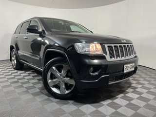 2012 Jeep Grand Cherokee WK MY2012 Overland Black 5 Speed Sports Automatic Wagon.