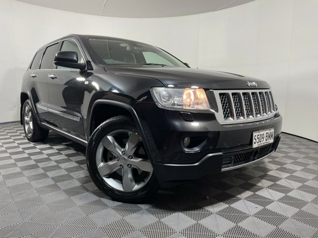 Used Jeep Grand Cherokee WK MY2012 Overland Wayville, 2012 Jeep Grand Cherokee WK MY2012 Overland Black 5 Speed Sports Automatic Wagon