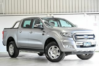 2016 Ford Ranger PX MkII XLT Double Cab 4x2 Hi-Rider Aluminium 6 Speed Sports Automatic Utility.