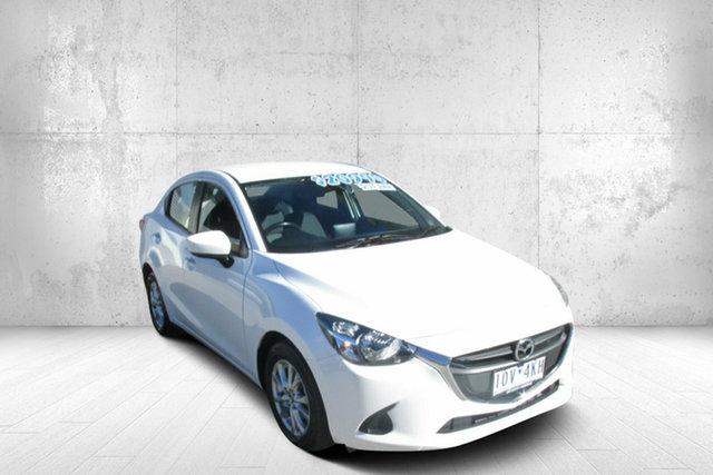 Used Mazda 2 DL2SAA Maxx SKYACTIV-Drive Bendigo, 2018 Mazda 2 DL2SAA Maxx SKYACTIV-Drive White 6 Speed Sports Automatic Sedan