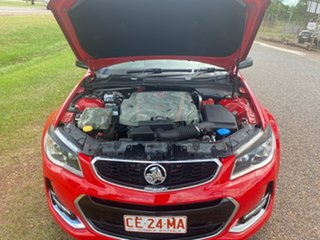 2014 Holden Ute VF MY14 SV6 Ute Storm Red 6 Speed Manual Utility