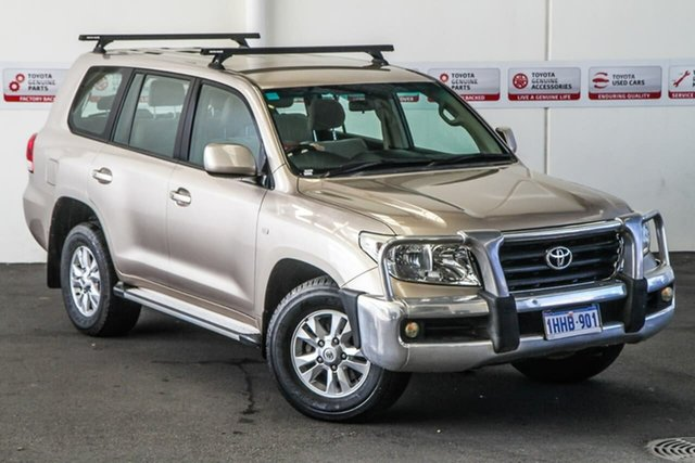 Pre-Owned Toyota Landcruiser VDJ200R 09 Upgrade GXL (4x4) Myaree, 2009 Toyota Landcruiser VDJ200R 09 Upgrade GXL (4x4) Vintage Gold 6 Speed Automatic Wagon