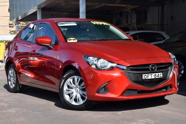 Used Mazda 2 DL2SA6 Neo SKYACTIV-MT Waitara, 2016 Mazda 2 DL2SA6 Neo SKYACTIV-MT Red 6 Speed Manual Sedan