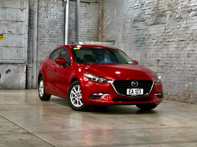Used Mazda 3 BM5278 Maxx SKYACTIV-Drive Mile End South, 2016 Mazda 3 BM5278 Maxx SKYACTIV-Drive Red 6 Speed Sports Automatic Sedan