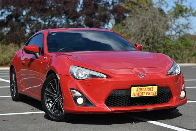Used Toyota 86 ZN6 GTS Enfield, 2015 Toyota 86 ZN6 GTS Red 6 Speed Manual Coupe