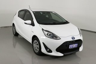 2019 Toyota Prius c NHP10R MY17 Hybrid White Continuous Variable Hatchback