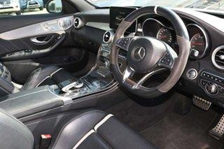 2015 Mercedes-Benz C-Class W205 C63 AMG SPEEDSHIFT MCT S Polar White 7 Speed Sports Automatic Sedan