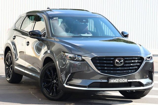 Demo Mazda CX-9 TC GT SP SKYACTIV-Drive i-ACTIV AWD Wollongong, 2021 Mazda CX-9 TC GT SP SKYACTIV-Drive i-ACTIV AWD Machine Grey 6 Speed Sports Automatic Wagon