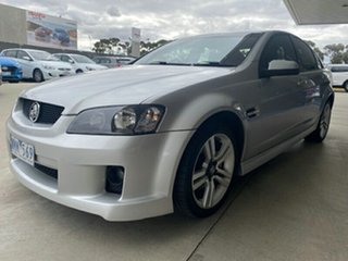 2008 Holden Commodore VE SV6 Silver 5 Speed Sports Automatic Sedan