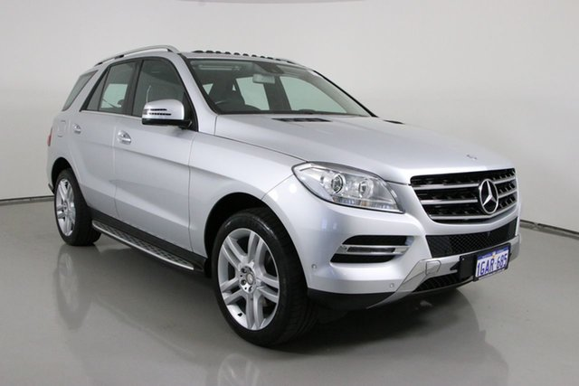 Used Mercedes-Benz ML250 CDI BlueTEC 166 MY14 4x4 Bentley, 2015 Mercedes-Benz ML250 CDI BlueTEC 166 MY14 4x4 Silver 7 Speed Automatic Wagon
