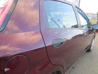 2013 Fiat Punto MY13 Pop Dualogic Red 5 Speed Sports Automatic Single Clutch Hatchback