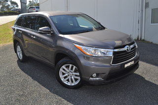 2015 Toyota Kluger GSU50R GX 2WD Grey 6 Speed Sports Automatic Wagon.