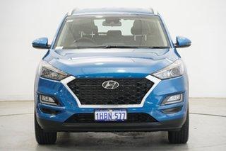 2020 Hyundai Tucson TL4 MY20 Active 2WD Aqua Blue 6 Speed Automatic Wagon.