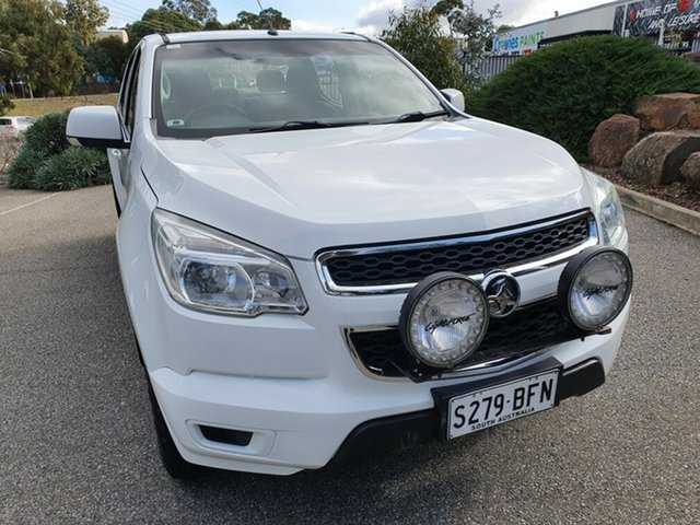 Used Holden Colorado RG MY15 LS Crew Cab 4x2 Totness, 2014 Holden Colorado RG MY15 LS Crew Cab 4x2 White 6 Speed Sports Automatic Utility