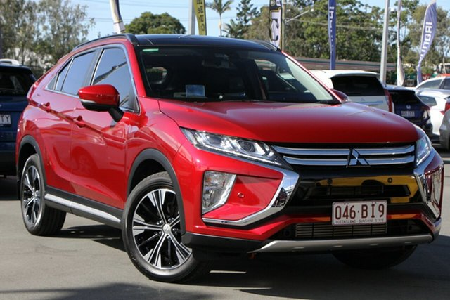 Used Mitsubishi Eclipse Cross YA MY19 Exceed 2WD Aspley, 2018 Mitsubishi Eclipse Cross YA MY19 Exceed 2WD Maroon 8 Speed Constant Variable Wagon