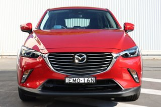 2017 Mazda CX-3 DK4W7A sTouring SKYACTIV-Drive i-ACTIV AWD Soul Red 6 Speed Sports Automatic Wagon