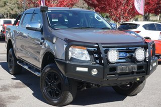 2015 Ford Ranger PX XLT Double Cab Gold 6 Speed Manual Utility.