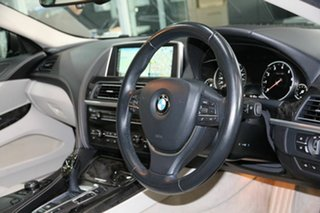2014 BMW 6 Series F06 MY0314 640i Gran Coupe Steptronic Brown 8 Speed Sports Automatic Sedan.