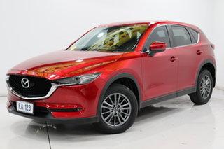 2017 Mazda CX-5 KF4W2A Maxx SKYACTIV-Drive i-ACTIV AWD Sport Red/Black 6 Speed Sports Automatic.