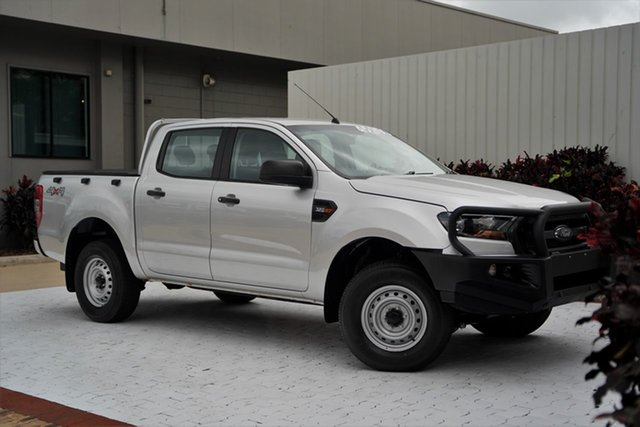 Used Ford Ranger PX MkII 2018.00MY XL Cairns, 2018 Ford Ranger PX MkII 2018.00MY XL Silver 6 Speed Sports Automatic Utility