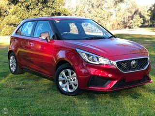 2021 MG MG3 (No Series) Core Red Automatic Hatchback.