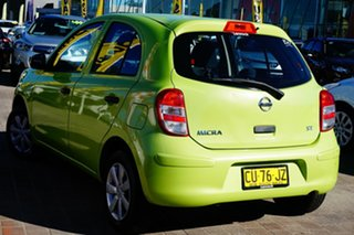 2011 Nissan Micra K13 ST Green 5 Speed Manual Hatchback