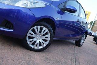 2009 Mazda 2 DE Neo Blue 4 Speed Automatic Hatchback.