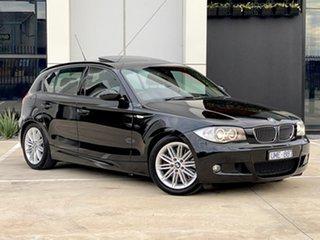 2006 BMW 1 Series E87 130i Sport Black 6 Speed Automatic Hatchback.