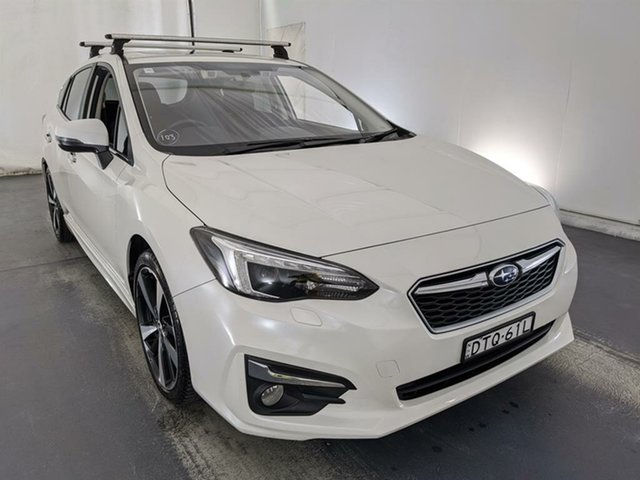 Used Subaru Impreza G5 MY17 2.0i-S CVT AWD Maryville, 2017 Subaru Impreza G5 MY17 2.0i-S CVT AWD White 7 Speed Constant Variable Hatchback