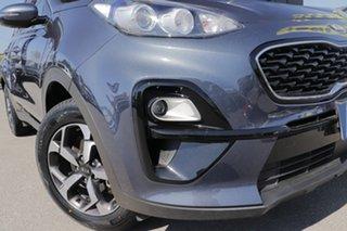 2019 Kia Sportage QL MY20 S 2WD Mercury Blue 6 Speed Sports Automatic Wagon.