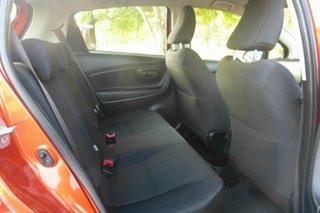 2015 Toyota Yaris NCP130R Ascent Orange 5 Speed Manual Hatchback