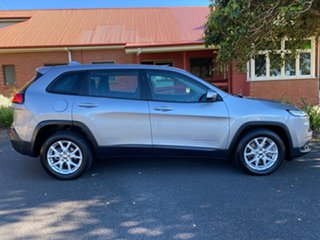 2014 Jeep Cherokee KL Sport Silver 9 Speed Sports Automatic Wagon.