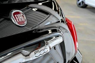 2015 Fiat 500 Series 4 Lounge Dualogic Black 5 Speed Sports Automatic Single Clutch Hatchback