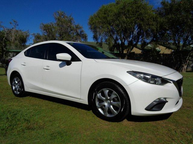 Used Mazda 3 Kippa-Ring, 2014 Mazda 3 White Automatic Sedan