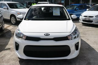 2019 Kia Rio YB MY20 S Clear White 4 Speed Sports Automatic Hatchback.
