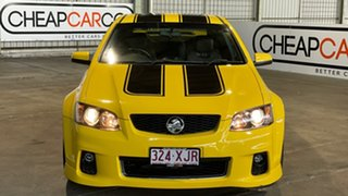 2010 Holden Commodore VE II SS V Yellow 6 Speed Manual Sedan
