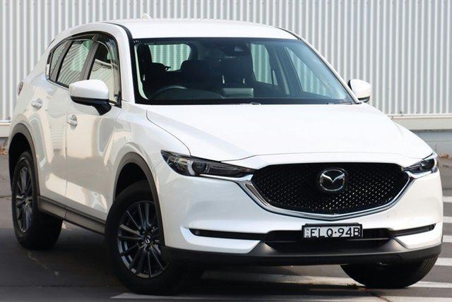 Demo Mazda CX-5 KF4W2A Maxx SKYACTIV-Drive i-ACTIV AWD Sport Wollongong, 2020 Mazda CX-5 KF4W2A Maxx SKYACTIV-Drive i-ACTIV AWD Sport Snowflake White Pearl 6 Speed